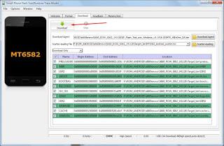 Cara Flash Lenovo S660 Menggunakan SP FlashTool Full Gambar