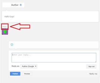 Cara Membuat Tombol Balas Pada Blog (Replay)