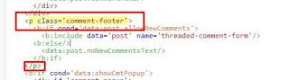 Menghilangkan Komentar Pada Blog