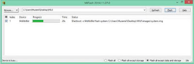 Cara Flash Redmi 2 / 2A / Prime Mode Fastboot Via MiFlash [FULL PIC]