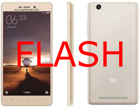 Cara Flash Redmi 3 / 3 Pro / 3s / 3x Dengan MiFlash Via Fasboot
