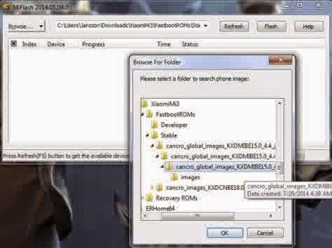 [Full Gambar] Cara Mudah Flash Redmi 1S via Fastboot
