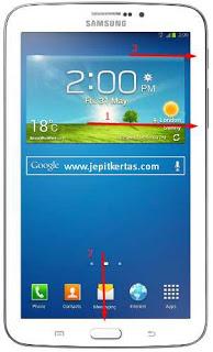 Cara Flash Samsung Galaxy Tab 3 7.0 SM-T211