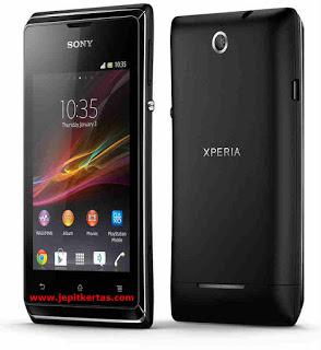 Flash Sony Xperia E C1505 via Flash Tool