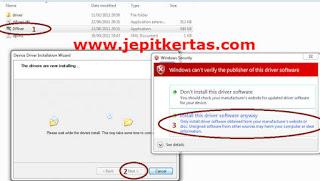 Cara Install Driver Spreadtrum (SPD) Windows 7