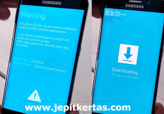 Cara Flash Samsung Galaxy A7 SM A720F via Odin