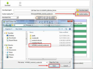 Cara Flash Advan I55 Stock Rom via Flashtool