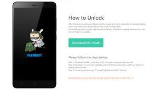 Cara Unlock Bootloader semua Xiaomi