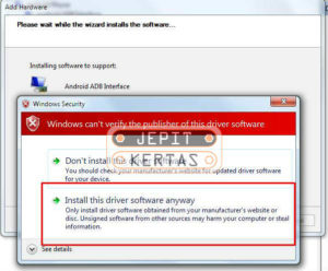 Cara Install Android USB Driver di Windows