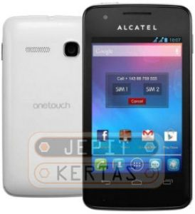 Cara Install TWRP Alcatel OneTouch S Pop 4030X TANPA PC