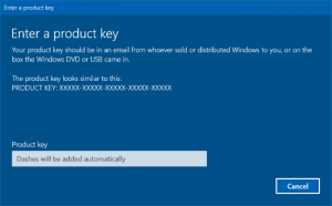 Product Key Aktivasi Windows 10