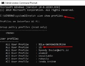 Cara Melihat Password Wifi Yang Terkoneksi di PC dan Android