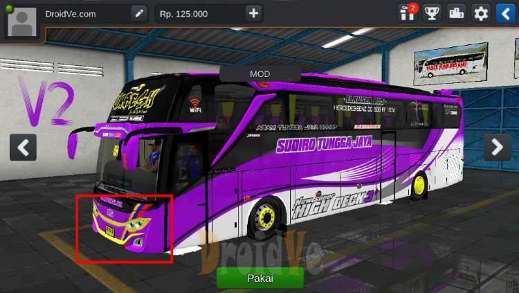 Bus JB3 SHD Mercy O500RS Facelift V2