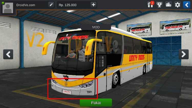 MOD BUSSID Bus New Armada Evonext Gen 2 V2