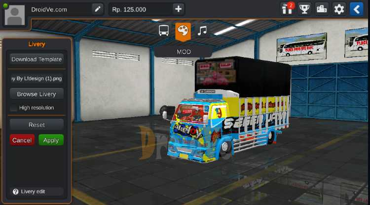 MOD Truck BussID Canter New Akeloy Bus Simulator Indonesia