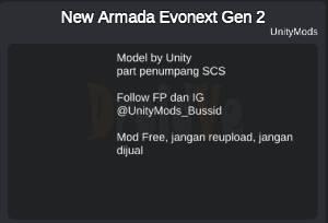 Credit Bus New Armada Evonext Gen 2