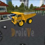 MOD BussID Cat Dump Truck Bus Simulator Indonesia