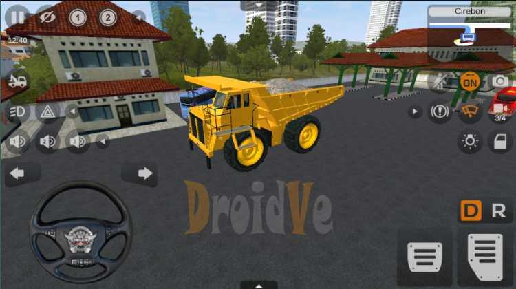 MOD BussID Cat Dump Truck Bus Simulator Indonesia