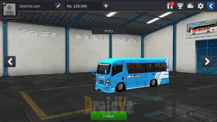 MOD BussID Elf NLR 55 BLX Bumper Avante Bus Simulator Indonesia Polos