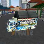MOD Truck BussID Canter Restu Bunda Bus Simulator Indonesia