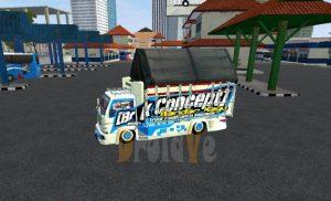 MOD Truck BussID Canter Restu Bunda Bus Simulator Indonesia