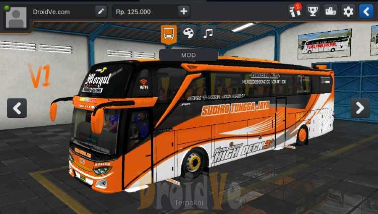 MOD Truck BussID MOD BussID Buss JB3O500RS Bus Simulator Indonesia
