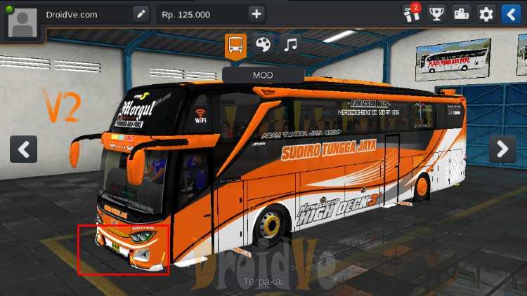 MOD Truck BussID MOD BussID Buss JB3O500RS V2 Bus Simulator Indonesia