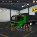 MOD Truck BussID Volvo FMX E5 10X4 Dumper
